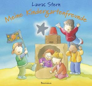 Kindergartenfreundebuch Lauras Stern